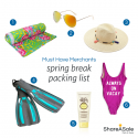 Must-Have Merchants: Spring Break Packing List