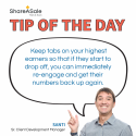 Tip of the Day: Keep tabs on your high earners