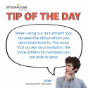 Tip of the Day: Be selective in your affiliate recruitment tool use