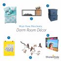 Must-Have Merchants: Dorm Room Décor
