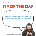 TOTD: Utilize the Make-A-Page tool when creating a blog post