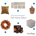 Must-Have Merchants: Fall Home Décor