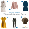 Must-Have Merchants: Women's Fall Fashion Trends