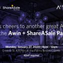 Save the date: Awin + ShareASale Party at ASW